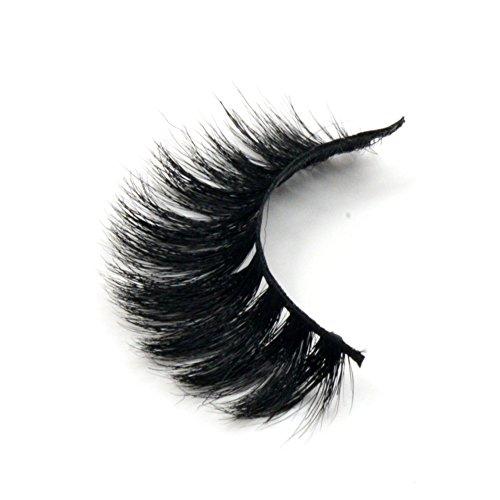 Arison Lashes Horse Hair False Eyelashes 3D 100% Hand-made Natural Look for Makeup (1 Pair)