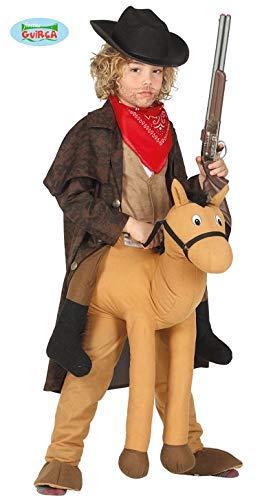 Pferd Sheriff Kostüm - Guirca Reitender Cowboy Pferdehose-Kostümzubehör braun Einheitsgröße
