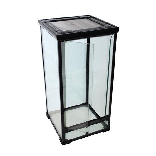 Glas-Terrarium 50x50x100 cm für Chamäleons, Schlangen, Gekkos und andere kletternde Reptilien
