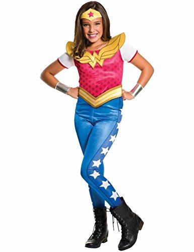 Warner-I-620743M-Dguisement-classique-pour-fille-Super-hros-Wonder-Woman