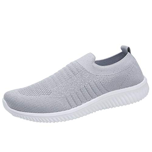 PAOLIAN_Zapatos Mujer Mujer Verano 2019 Paolian Zapatos Deportes Correr cómodo DressCasual planas ShoesSolid...