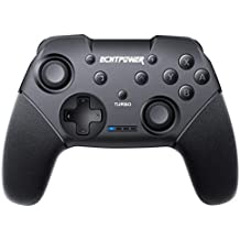 ECHTPower Manettes Switch, Manette pour Nintendo Switch, Controller Switch Manette Pro Switch sans Fil avec Bluetooth/Turbo/ 6 Axes/Double Moteur pour Nintendo Switch Pro