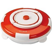 Ariete 799 - Calentador de platos eléctrico, 105 W, color naranja