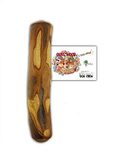 Bio Mordiscos Hundespielzeug kauspielzeug aus Olivenbaumholz für Hunde - 100% natürlich (L 221-450g)