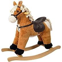 Cavallo A Dondolo In Peluche.Amazon It Cavallo A Dondolo Peluche