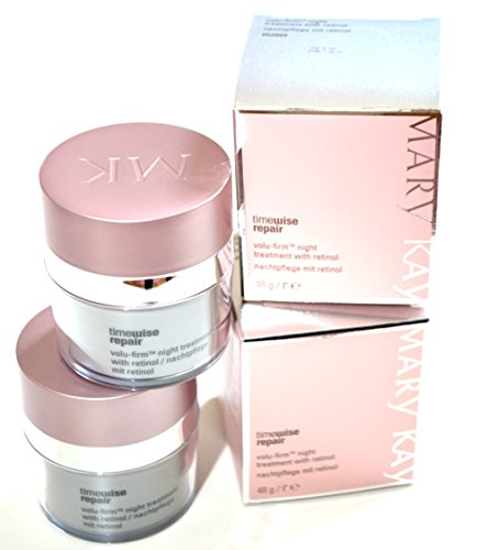 2 x Mary Kay TimeWise Repair Volu-Firm Nachtcreme Night Treatment mit Retinol