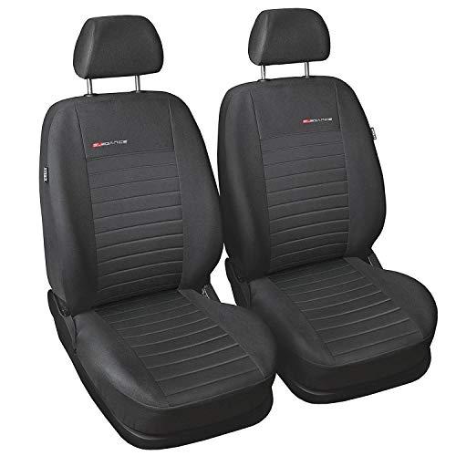 CoprisediliAuto Anteriori Copri-sedile con Airbag  Sistema Elegance P4 - Grigio