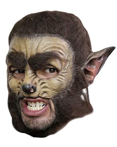 Wolf Maske Deluxe - Augenbrauen-akzent