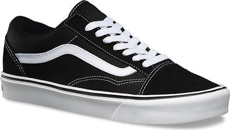 Vans Unisex-Erwachsene Ua Old Skool Lite Sneakers, (Canvas) Black/Black (suede/canvas) Black/white
