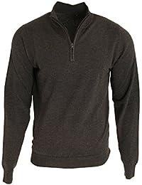 Premier Pull tricoté à col zippé - Homme