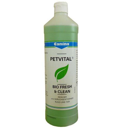 Bio-tier (Canina PETVITAL Bio Fresh & Clean 1000ml - Reiniger rund ums Tier)