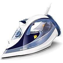 Philips Azur Performer Plus GC4516/20 - Plancha de vapor, potencia 2400 W, capacidad del deposito 300 ml, suela SteamGlide Plus, golpe de vapor de 190 g