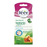 Veet Wax Strips Hair Remover Kit For Women, 3-Piece