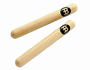 claves: Meinl Percussion CL1HW - Claves de madera