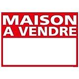 Panneau - Maison A Vendre - Plastique rigide AKILUX 3,5mm - Dimensions 700 x 500 mm - Protection Anti-UV...