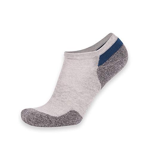 Zeit und River Running Knöchel Socke, Feuchtigkeitstransport Unisex Wandern Socke 1,6Paar, Damen, Gray 1 Pair, Einheitsgröße -