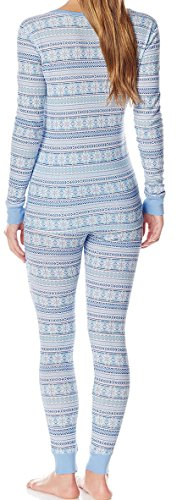 Ninety-One Damen Schlafanzug - FRIENDLY FAIRISLE STRIPE