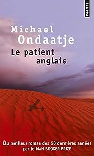 Le patient anglais par Michael Ondaatje