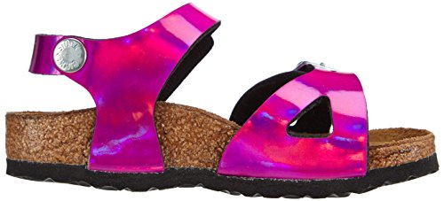 Birkenstock Rio, Sandales mixte enfant Rose (Mirror Pink)