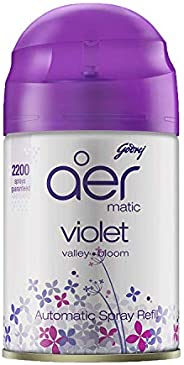 Godrej aer matic, Automatic Air Freshener Refill Pack - Violet Valley Bloom (225 ml)