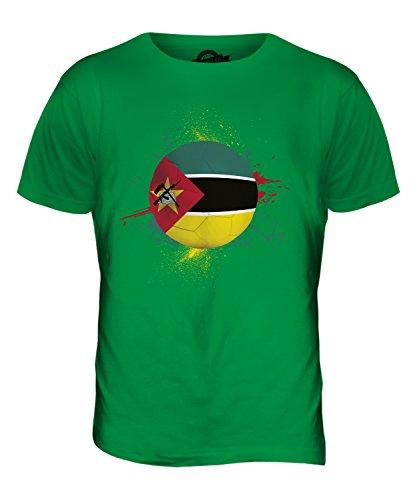 CandyMix Mosambik Fußball Herren T Shirt Grün