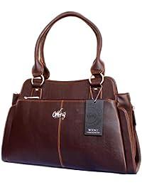Stonkraft Women's Handbag( Brown,FxLthrBlkBag101)