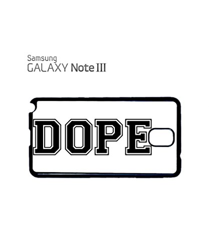 Dope Please Baseball Mobile Cell Phone Case Samsung Note 3 Black Noir