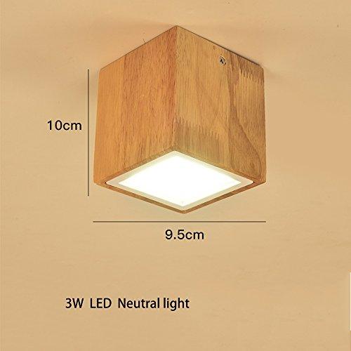 Luz de techo LED Proyectores, lámpara creativa del techo del LED de...