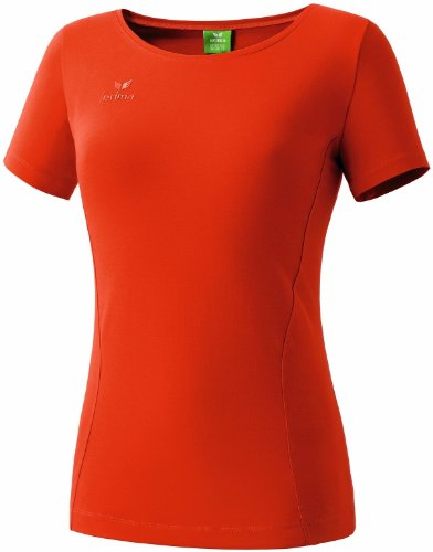 Erima Damen T-Shirt Style, chilli red, 48, 208229