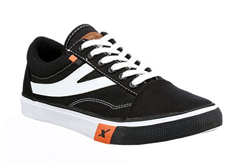 Sparx Men's SC-0252 Black and White Sneakers - 10 UK/India (44 EU)(SC0252)