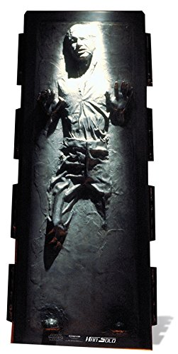 c517 - Riesenfigur - Han Solo - Star Wars - 185 x 78 cm. (Darth Vader Pappaufsteller)