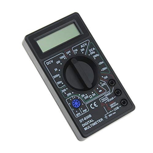 LeobooseDT-830B Mini bolsillo Multímetro digital 1999 Cuenta AC/DC Volt Amp Ohm Diodo hFE Probador Amperímetro Voltímetro Ohmmeter