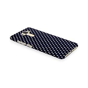 Cover Affair Polka Dots Printed Designer Slim Light Weight Back Cover Case for Asus Zenfone 3 Laser ZC551KL (Black & White)