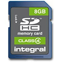 Integral Carte mémoire flash SDHC Class 4 8 Go