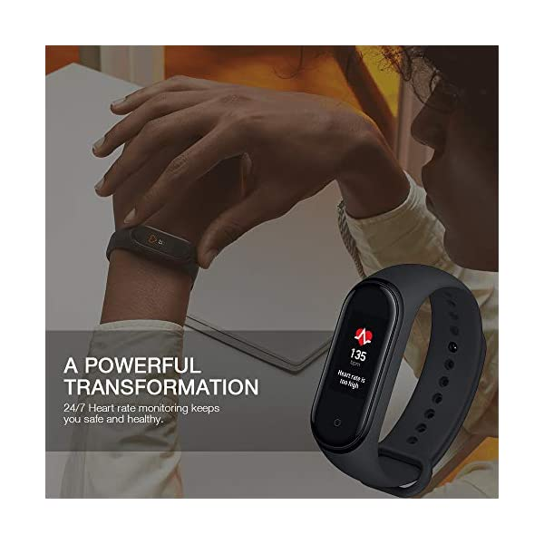Xiaomi Smart Band 4, Adultos Unisex, Negro, Talla única 6