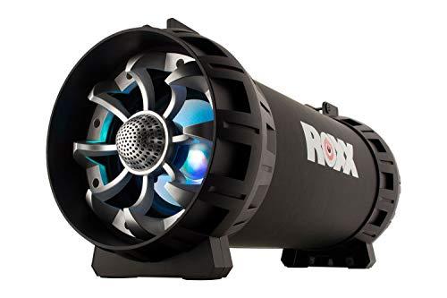 ROXX Ghettoblaster Bluetooth Lautsprecher BB 601 Boombox mit Radio USB, SD, AUX und sattem Sound