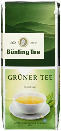 Bünting Tee Grüner Tee 250 g lose, 7er Pack (7 x 250 g)