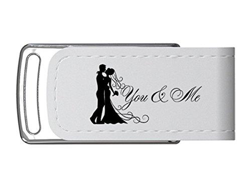 USB-Stick Hochzeit Design You & Me USB 3.0 Größe 16GB