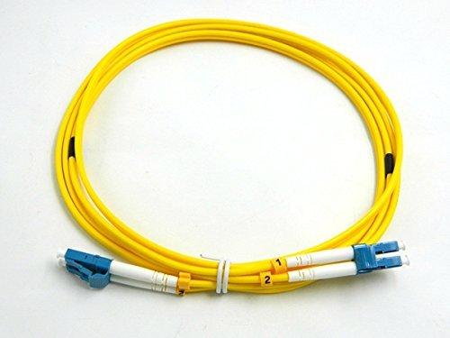 T Optics 9/125 Os1 Lc To Sc Duplex Fibre Optic Cable 1M. Colour: Yellow by T Optics