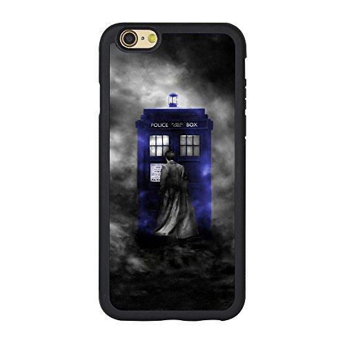 Schutzhülle für iPhone 6S/6 Doctor Who Tardis Polizei-Telefonzelle, TPU BB-02