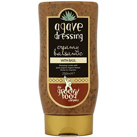 The Groovy Food Co Groovy Balsamico Cibo E Basilico Spogliatoio 250ml