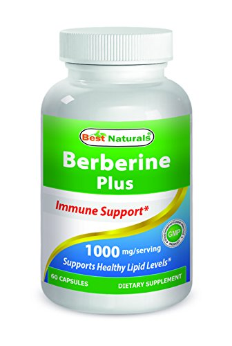 Best Naturals Berberine Plus 1000 Mg per Serving 60 Capsules Test