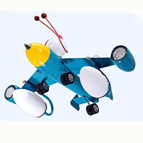 Guo Kinderzimmer Schlafzimmer Lichter Kämpfer Kreative Kronleuchter Junge Aircraft Lichter Hardware-Technologie E14 Lampe Port - 3