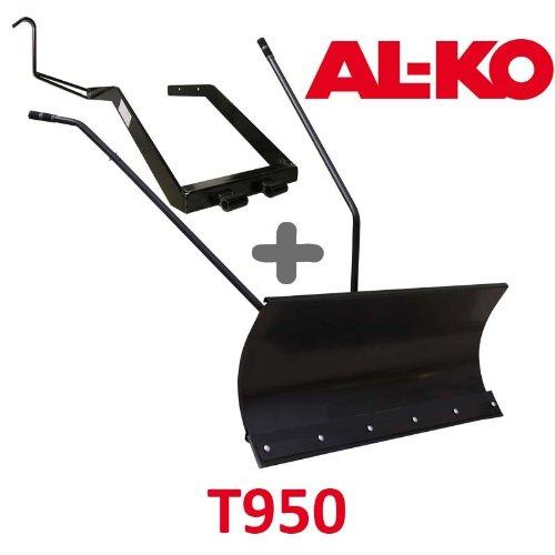 Lame à Neige 118 cm Noire + adaptateur pour AL-KO T950