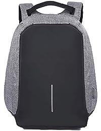 778cd7c9ed Boern Panno Oxford Impermeabile Ufficio Zaini Unisex Colore Splicing Zippo  Borse Grande Capacità Outdoor Backpack Antifurto