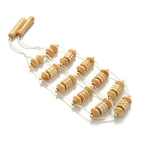 Back Massager Roller Foot Full Body Massage Head Massager for Pain Relief and Blood Circulation Accelerating