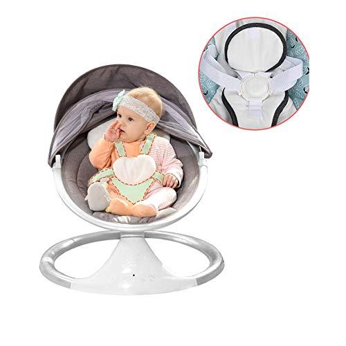 BIGLOVE Elektrisch Babywippe Paket Mit Bluetooth- und USB-Schnittstelle Schützen Sie die Wirbelsäule Ihres Babys Besser