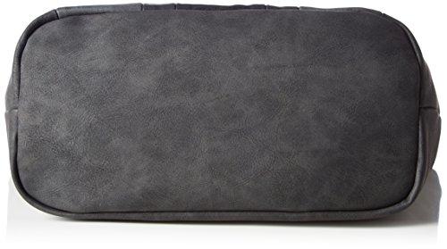 Tom Tailor Acc Damen Cleo Schultertasche, 14 x 25 x 37 cm Schwarz (Schwarz)