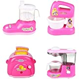 Battery Operated Mini Household Kitchen Sets Toys Kitchen Sets Toys For Girls