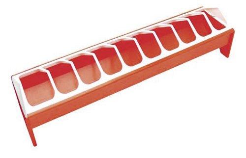 Kerbl 71331 Futtertrog für Hennen Kunststoff 50 x 12 cm